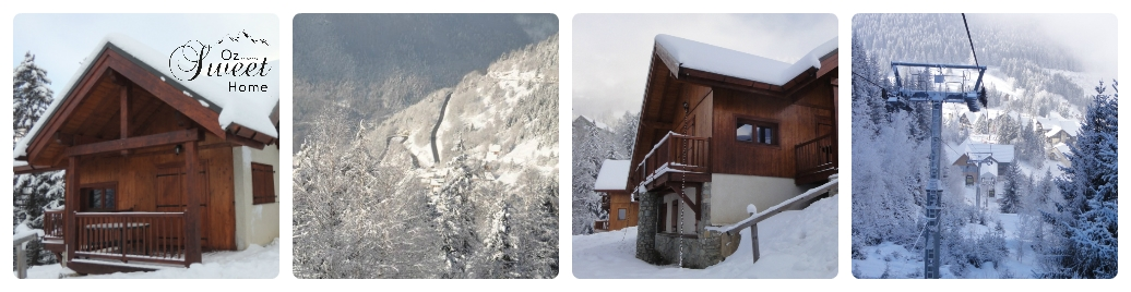 The chalet during winter