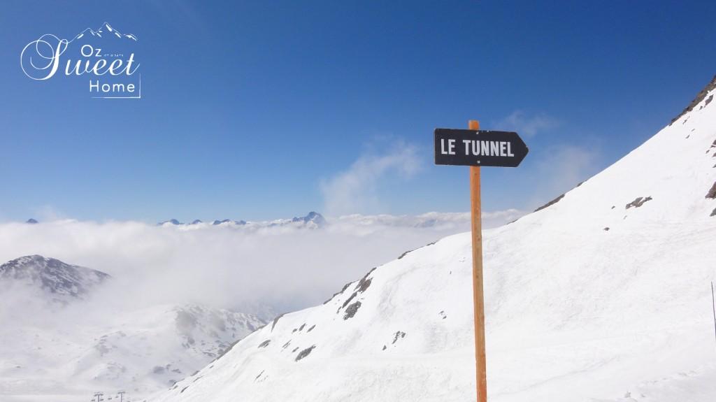 la piste Tunnel